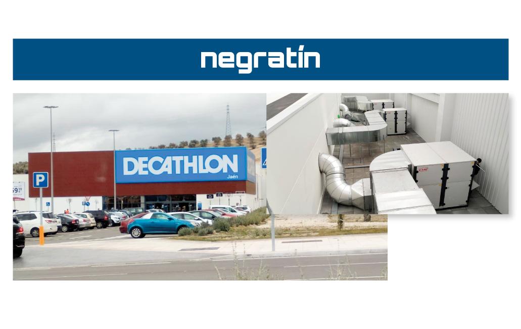 Instalación Decathlon Jaén